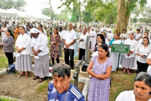 Easter Sunday bomb victims remembered