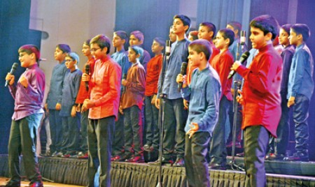 Rocking night of young talent