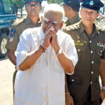 TNA leader R. Sampanthan at St Mary's Girls School, Trinco
