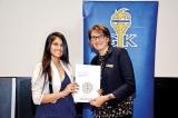 Nawaloka College Student honoured with Global Golden Key Award