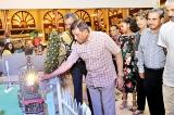 Green and bright: Christmas tree  lighting at Galadari