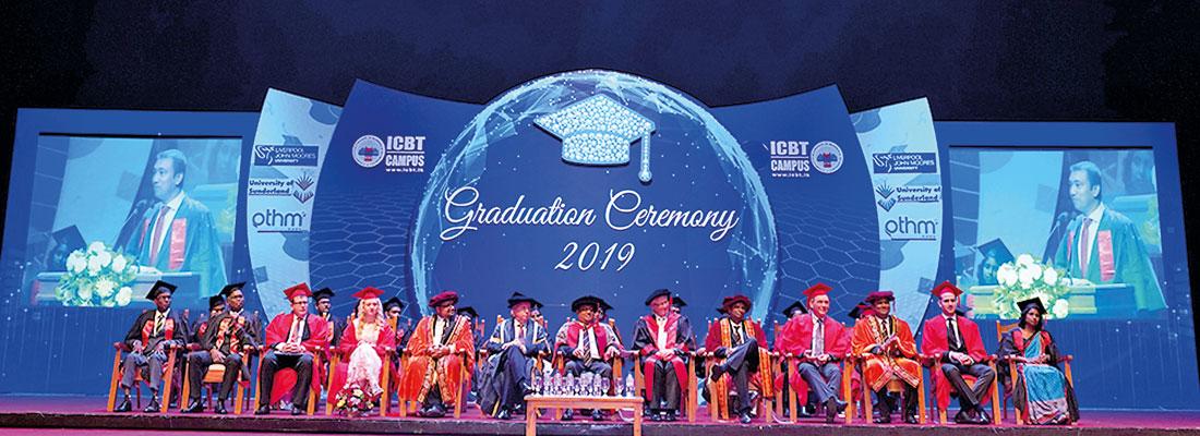 ICBT Campus Graduation a huge success