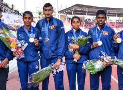 Rain of gold  in athletics
