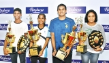 Thinura and Anargi named most promising squash players