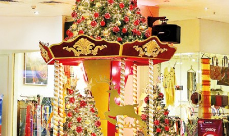 Deck the  halls with wow factor