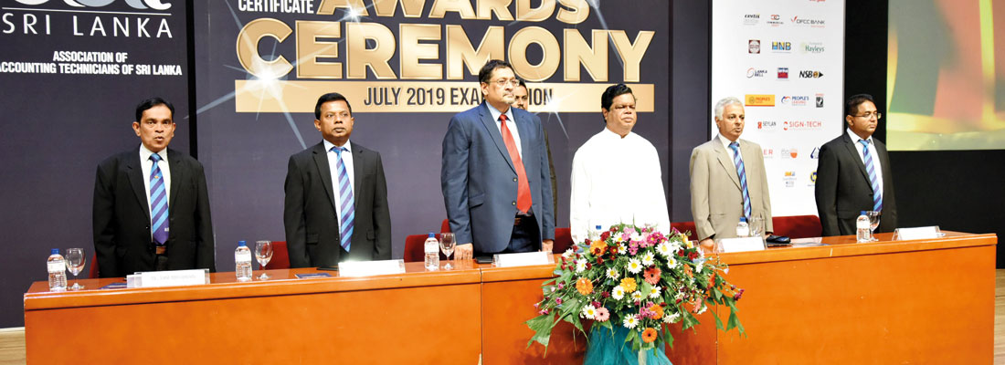 Passed Finalists Certificate Awarding Ceremony of AAT Sri Lanka