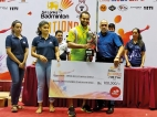 Dilmi Dias steals spotlight with three titles at Badminton Nationals