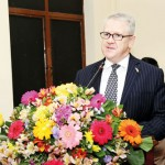 The Chief Guest Australian High Commissioner for  Sri Lanka His Excellency David Holly Addressing the gathering