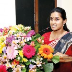 Ms. Nishmitha Ramraj delivering the vote of thanks