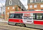 Toronto's old streetcars, a symbol of city, leave the rails