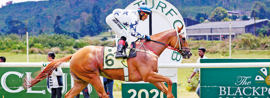 Indian jockey Irvan Singh steals limelight with hat-trick