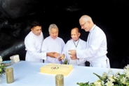 Felicitating Fr. Neil Karunaratne