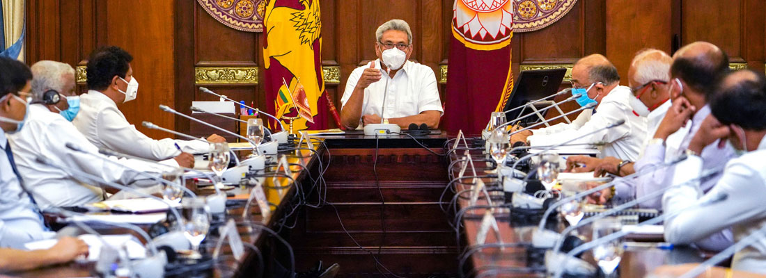 President takes cautious route to restore normalcy
