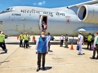 India's new envoy lands with medicines