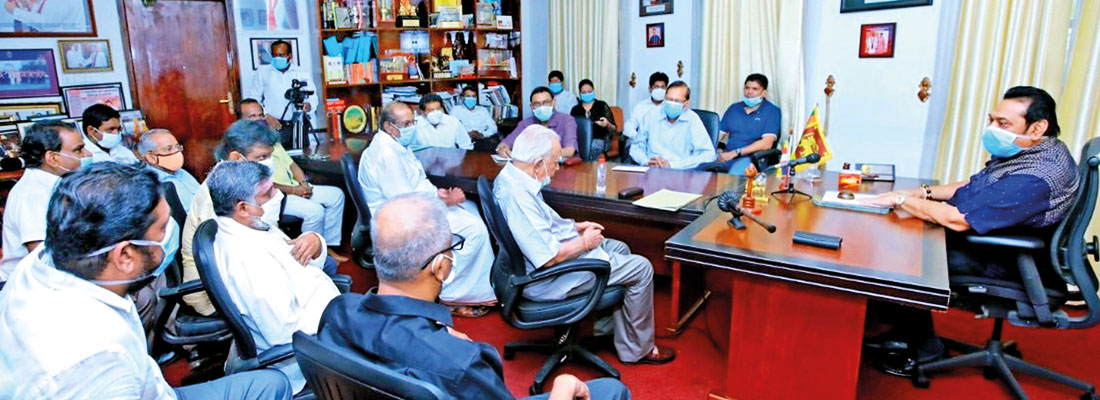 TNA dumps opposition parties by attending PM's meeting
