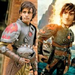 Uncanny likeness: As Hiccup from 'How to train your Dragon'