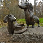 Anton Chekhov's two dogs can be found in the Melikhovo estate of suburban Moscow
