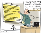 Unprecedented world food shortages, hunger, starvation and deaths amidst corona pandemic