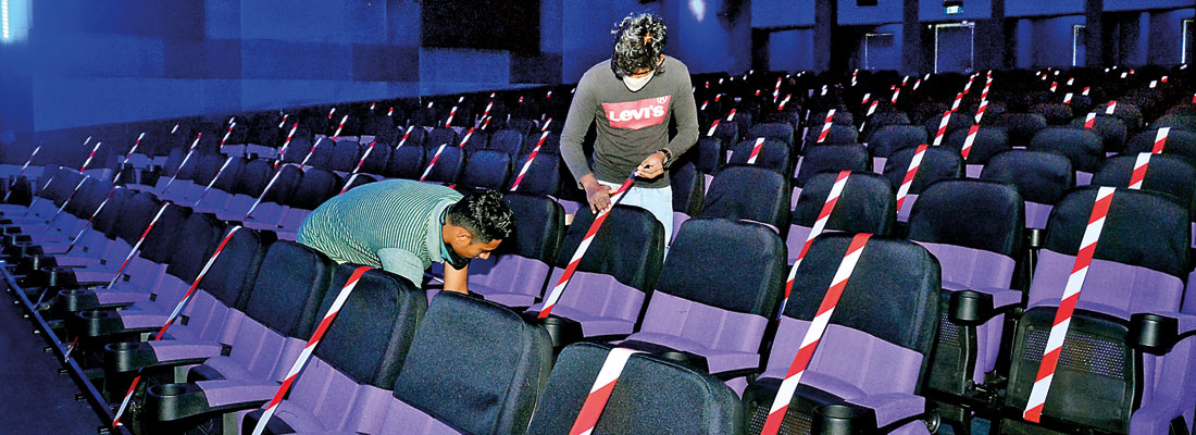 Cinemas to open  – but crowds gone with the wind