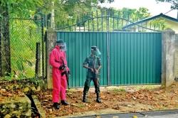Armed troops guard COVID hospitals