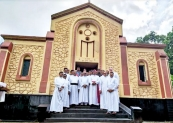 New Redemptorist Missionary Community at Hewadiwela