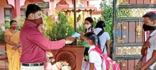 Schools open their gates after many months