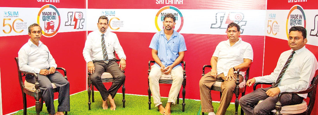 SLIM and SLIC bring Sri Lankan inventors to the limelight with 'Made in Sri Lanka' under the Restart Sri Lanka national initiative