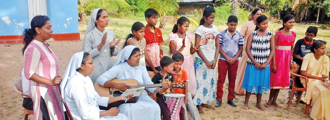When the Holy Family nuns spread their  kindness in Lanka