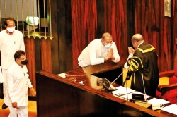The first murder convict to take oaths in Parliament