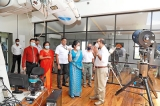 Dr Seetha Arambepola visits the Arthur C. Clarke Institute