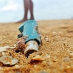 Making us sick: An inhaler littering the beach