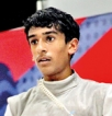 16-year-old American fencer aims to bring Sri Lanka glory