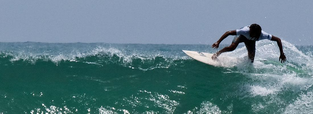 Madushan regains title as tourists revel at Arugam Bay