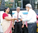 A generous donation: Senior UOC alumnus gifts luxury passenger bus to Science Faculty