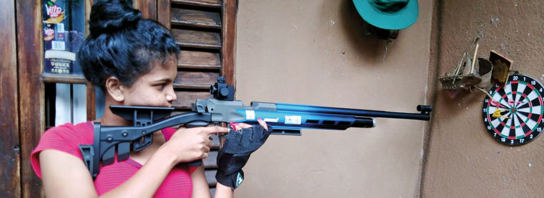 ​Young shooting star Nifla Azoor aims  to become a teacher