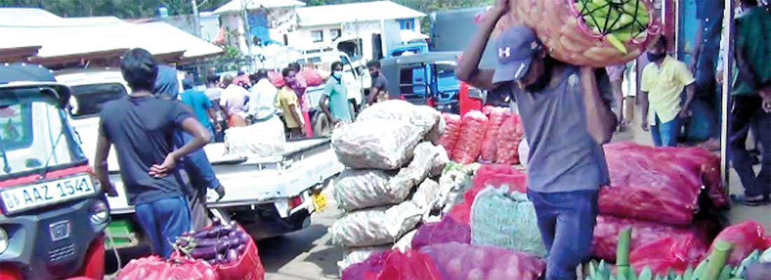 Despair as produce trucks turned back from markets