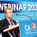 CA Sri Lanka Vice President Mr. Sanjaya Bandara addressing the participants.