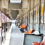 Pettah: Deserted stands