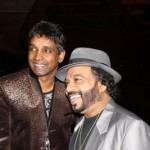 Damian with Sunil