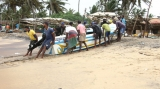 Fishermen return to sea after Cyclone Burevi
