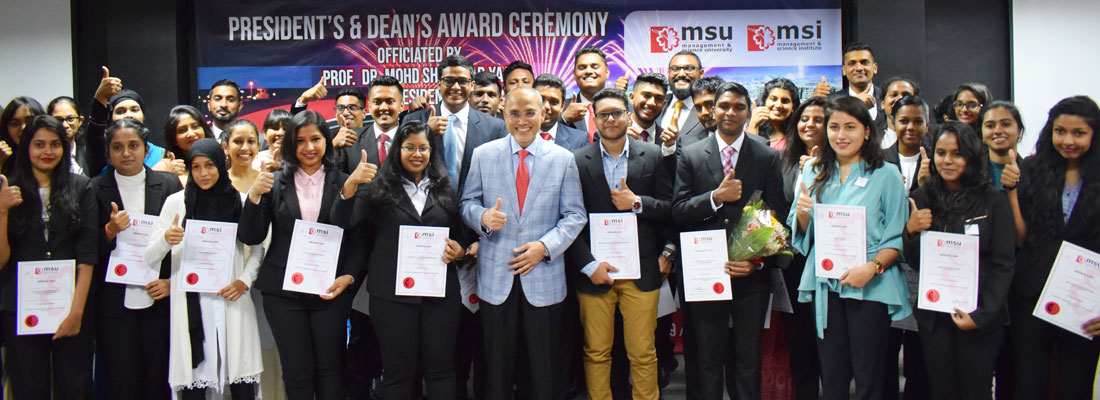 MSI offers opportunities to have an exciting & diverse career in the fast growing Event Management Profession