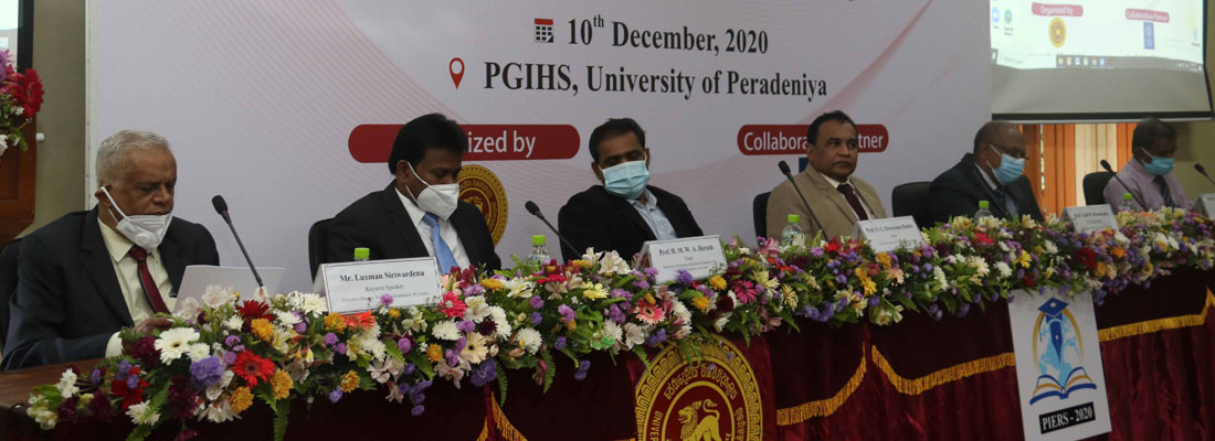 Peradeniya University holds eighth International Economics Research Symposium (PIERS)