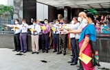 Public Servants take oaths to implement President's manifesto
