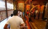 Dalada Maligawa's restricted areas opened to worshippers