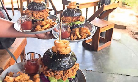 Kandy's trendy food setters on a blazing trail