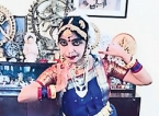 Online lecture on Bharatha Natyam