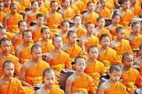 Compulsory military training or bhikku voluntary ordination?