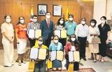Korean language speech contest winners felicitated