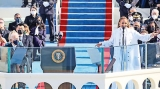 Stars share unifying message at Inauguration performance