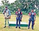 Sri Lankans complete  skeet event positively
